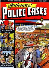 Cover Thumbnail for Authentic Police Cases (St. John, 1948 series) #17