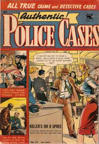 Cover Thumbnail for Authentic Police Cases (St. John, 1948 series) #32