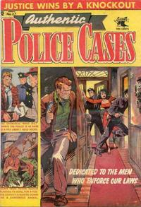 Cover Thumbnail for Authentic Police Cases (St. John, 1948 series) #37