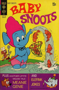 Cover Thumbnail for Baby Snoots (Western, 1970 series) #7 [Gold Key Variant]