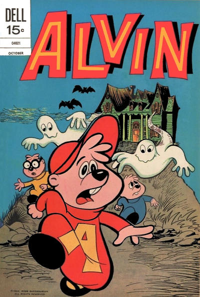 Cover for Alvin (Dell, 1962 series) #26