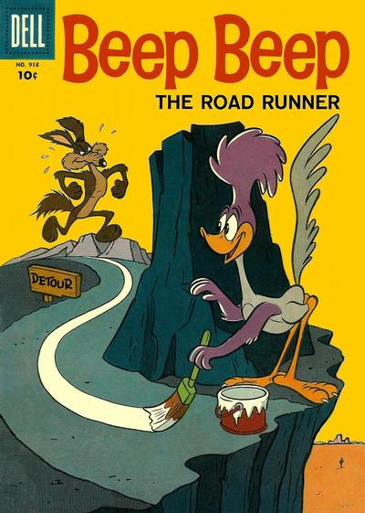 Cover for Four Color (1942 series) #918