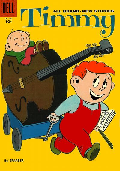 Cover for Four Color (Dell, 1942 series) #923 - Timmy