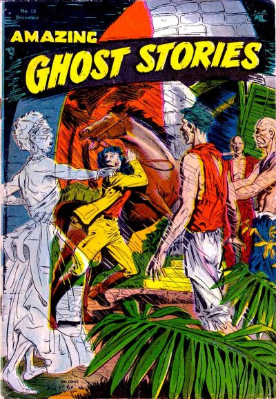 Cover for Amazing Ghost Stories (St. John, 1954 series) #15
