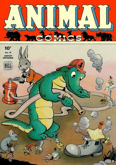 Cover for Animal Comics (Dell, 1942 series) #10