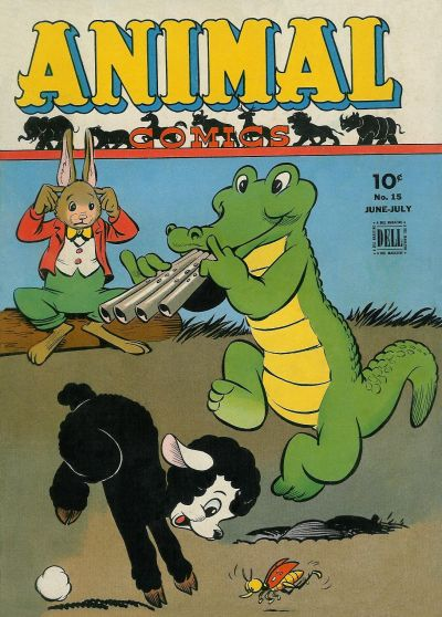 Cover for Animal Comics (Dell, 1942 series) #15