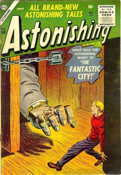 Cover for Astonishing (Marvel, 1951 series) #50