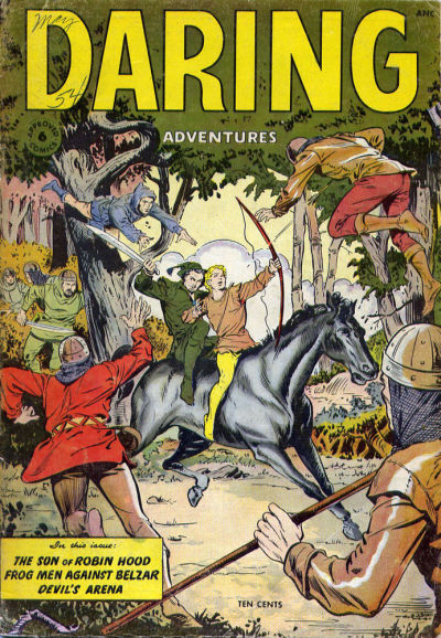 Cover for Approved Comics (St. John, 1954 series) #6