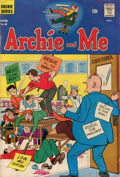 Cover for Archie and Me (1964 series) #8
