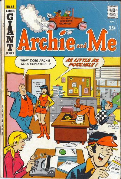 Cover for Archie and Me (1964 series) #48