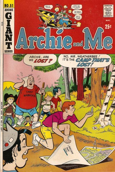 Cover for Archie and Me (Archie, 1964 series) #51