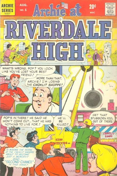Cover for Archie at Riverdale High (Archie, 1972 series) #1