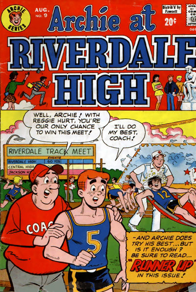Cover for Archie at Riverdale High (Archie, 1972 series) #9