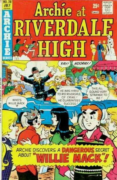 Cover for Archie at Riverdale High (Archie, 1972 series) #26