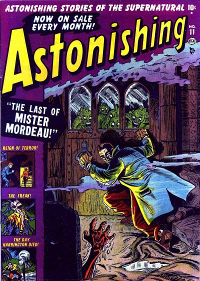 Cover for Astonishing (Marvel, 1951 series) #11