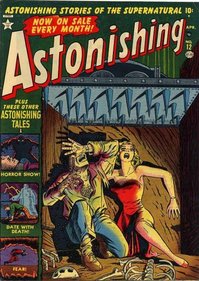 Cover for Astonishing (1951 series) #12
