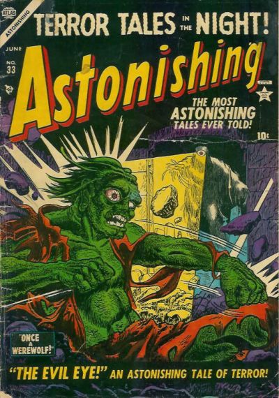 Cover for Astonishing (Marvel, 1951 series) #33