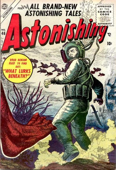 Cover for Astonishing (Marvel, 1951 series) #46