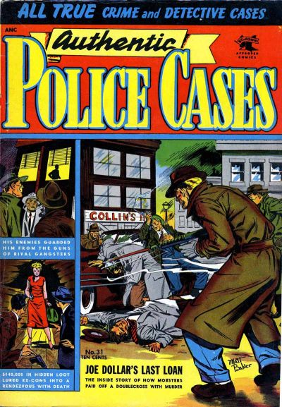 Cover for Authentic Police Cases (St. John, 1948 series) #31
