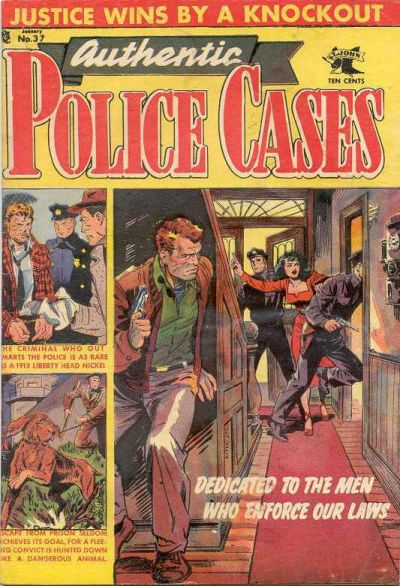 Cover for Authentic Police Cases (St. John, 1948 series) #37