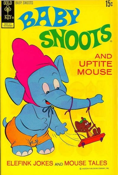 Cover for Baby Snoots (Western, 1970 series) #10 [Gold Key]