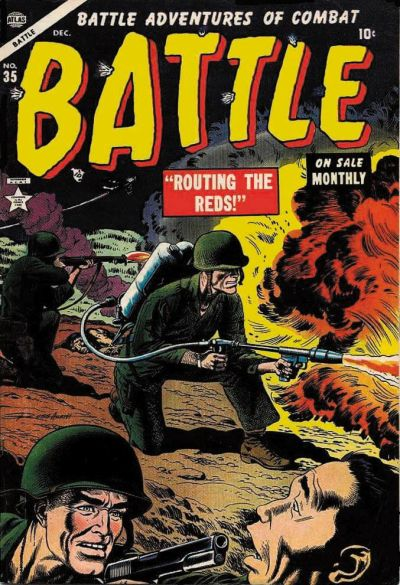 Cover for Battle (Marvel, 1951 series) #35