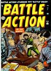 Cover for Battle Action (Marvel, 1952 series) #7