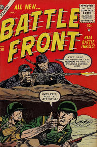 Cover for Battlefront (Marvel, 1952 series) #38