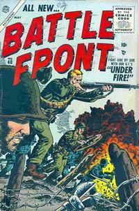 Cover for Battlefront (Marvel, 1952 series) #40