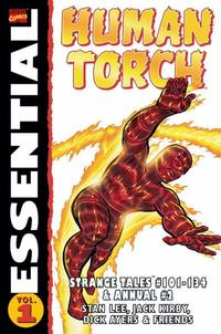 Cover Thumbnail for Essential Human Torch (Marvel, 2003 series) #1