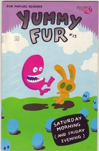 Cover Thumbnail for Yummy Fur (Vortex, 1986 series) #13