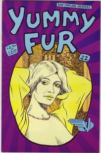 Cover Thumbnail for Yummy Fur (Vortex, 1986 series) #22