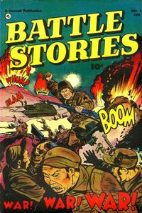 Cover Thumbnail for Battle Stories (Fawcett, 1952 series) #1