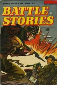 Cover Thumbnail for Battle Stories (Fawcett, 1952 series) #10