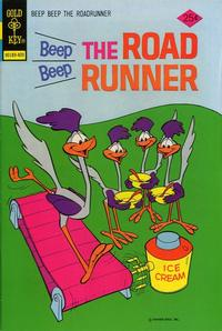 Cover Thumbnail for Beep Beep the Road Runner (Western, 1966 series) #45 [Gold Key Variant]