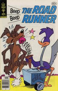 Cover Thumbnail for Beep Beep the Road Runner (Western, 1966 series) #85 [Gold Key]