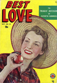 Cover Thumbnail for Best Love (Marvel, 1949 series) #34