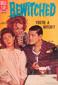 Cover Thumbnail for Bewitched (Dell, 1965 series) #1