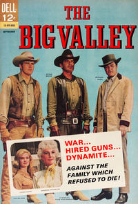 Cover Thumbnail for The Big Valley (Dell, 1966 series) #2