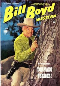 Cover Thumbnail for Bill Boyd Western (Fawcett, 1950 series) #16
