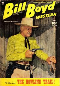Cover Thumbnail for Bill Boyd Western (Fawcett, 1950 series) #18