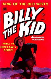 Cover Thumbnail for Billy the Kid Adventure Magazine (Toby, 1950 series) #2