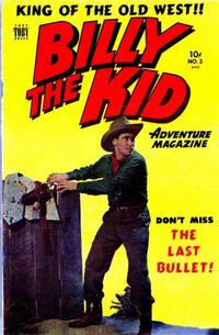 Cover Thumbnail for Billy the Kid Adventure Magazine (Toby, 1950 series) #3