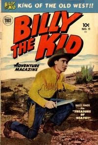 Cover Thumbnail for Billy the Kid Adventure Magazine (Toby, 1950 series) #11