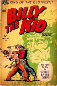 Cover Thumbnail for Billy the Kid Adventure Magazine (Toby, 1950 series) #16