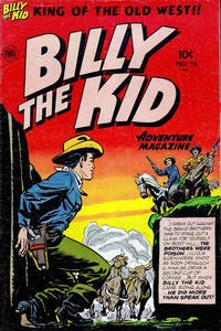 Cover Thumbnail for Billy the Kid Adventure Magazine (Toby, 1950 series) #18