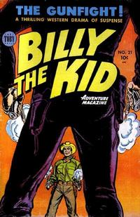 Cover Thumbnail for Billy the Kid Adventure Magazine (Toby, 1950 series) #21