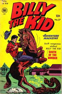Cover Thumbnail for Billy the Kid Adventure Magazine (Toby, 1950 series) #27