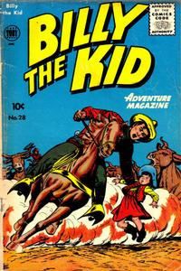 Cover Thumbnail for Billy the Kid Adventure Magazine (Toby, 1950 series) #28