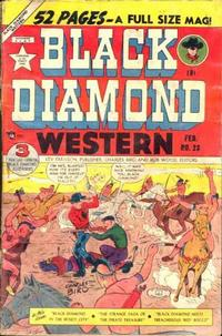 Cover Thumbnail for Black Diamond Western (Lev Gleason, 1949 series) #23